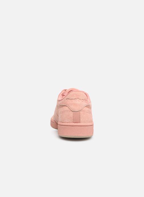 Sneaker Reebok Club C 85 W rosa ansicht von rechts