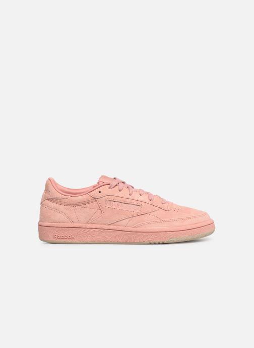 Sneaker Reebok Club C 85 W rosa ansicht von hinten