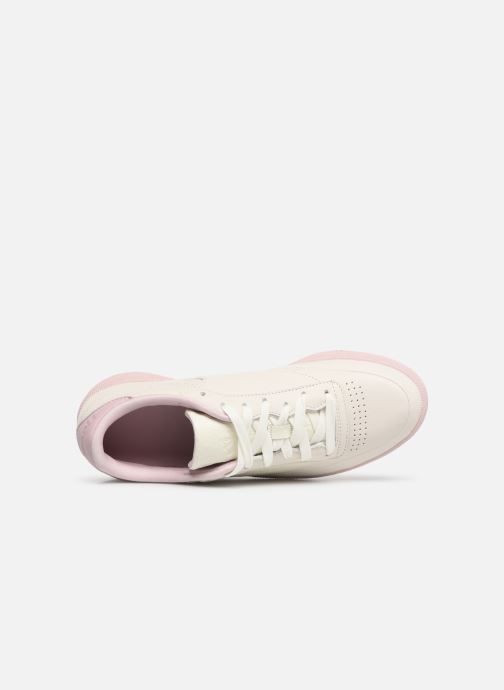 Sneakers Reebok Club C 85 W Bianco immagine sinistra