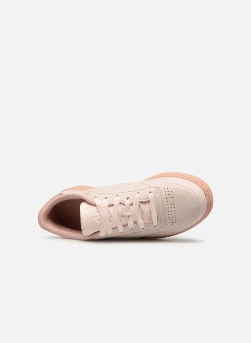 dusty Club Edge 85 W Pink Red neon C Baskets Reebok pale Pink Fld 5cq3AjRL4