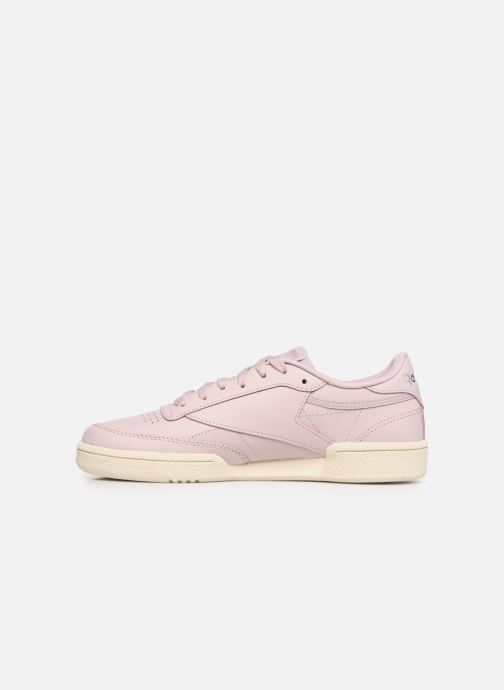 Baskets Reebok Club C 85 W Rose vue face