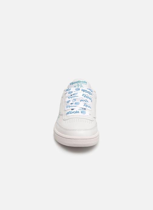Baskets Reebok Club C 85 W Gris vue portées chaussures