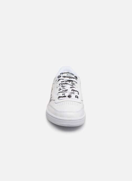 Club Reebok Baskets Head Sneaker black W white 85 C pGSUVMqLz