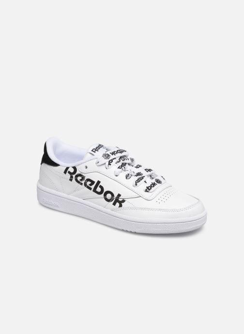 Baskets Reebok Club C 85 W Blanc vue détail/paire