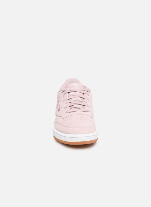 Trainers Reebok Club C 85 W Pink model view