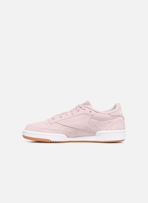 Trainers Reebok Club C 85 W Pink front view