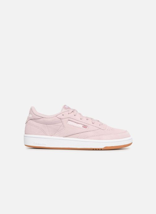 Trainers Reebok Club C 85 W Pink back view