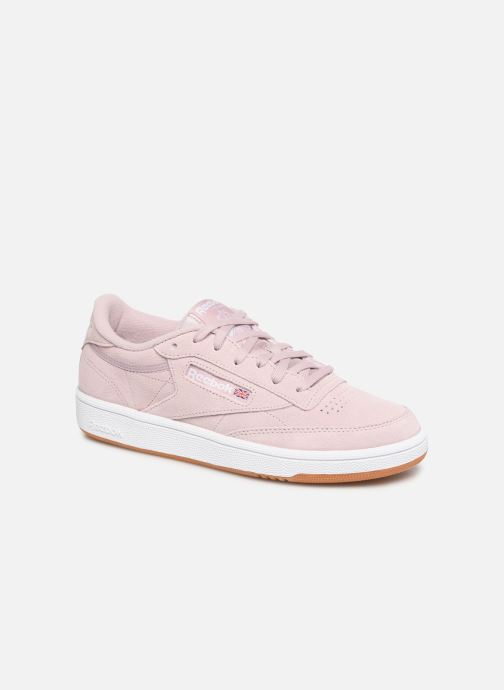 Trainers Reebok Club C 85 W Pink detailed view/ Pair view