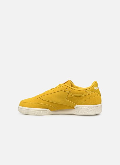 Baskets Reebok Club C 85 W Jaune vue face