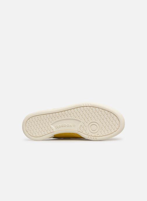Sneakers Reebok Club C 85 W Geel boven