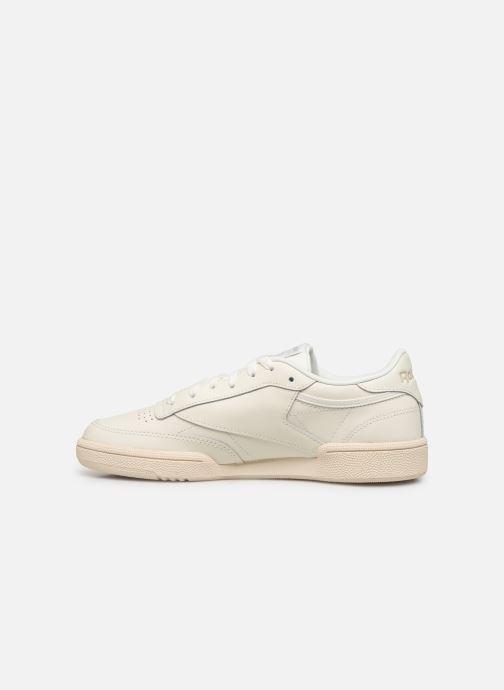 Sneakers Reebok Club C 85 W Hvid se forfra