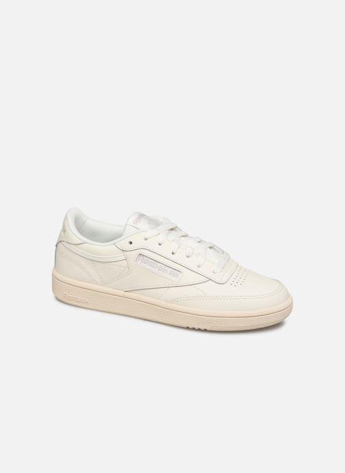 Sneakers Reebok Club C 85 W Hvid detaljeret billede af skoene