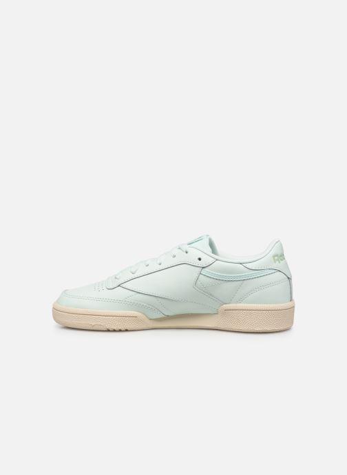 Sneakers Reebok Club C 85 W Verde immagine frontale