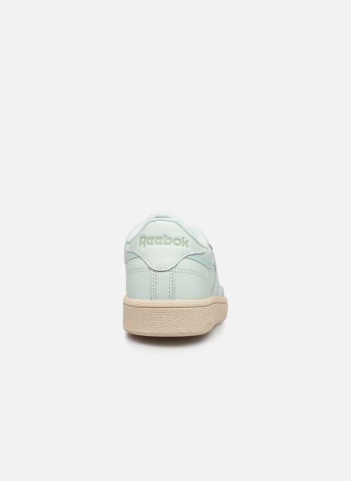 Sneakers Reebok Club C 85 W Verde immagine destra