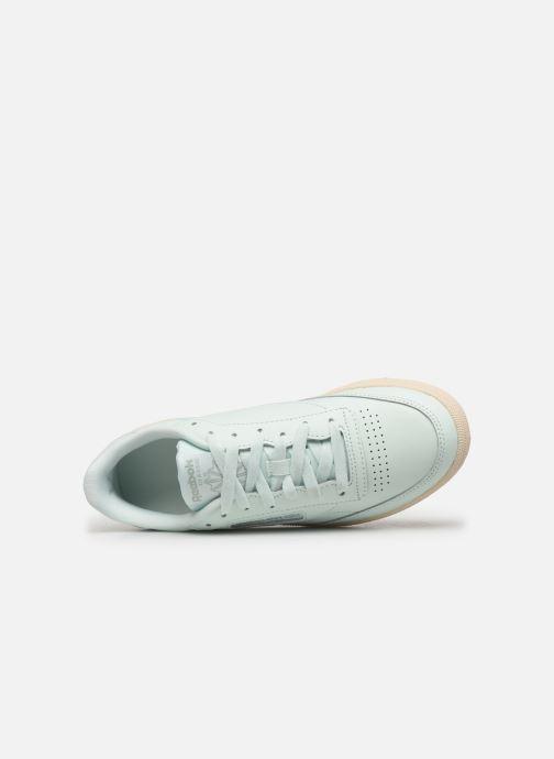 Sneakers Reebok Club C 85 W Verde immagine sinistra