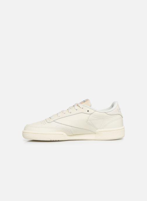 Sneaker Reebok Club C 85 W beige ansicht von vorne