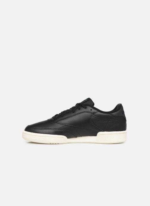 Sneakers Reebok Club C 85 W Zwart voorkant
