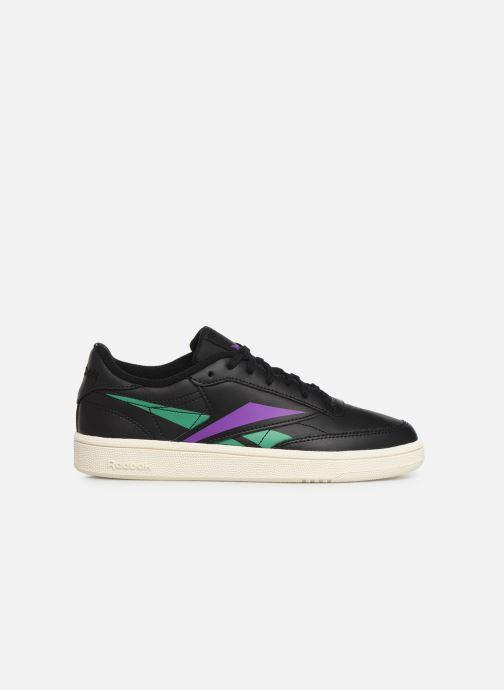 Sneakers Reebok Club C 85 W Zwart achterkant