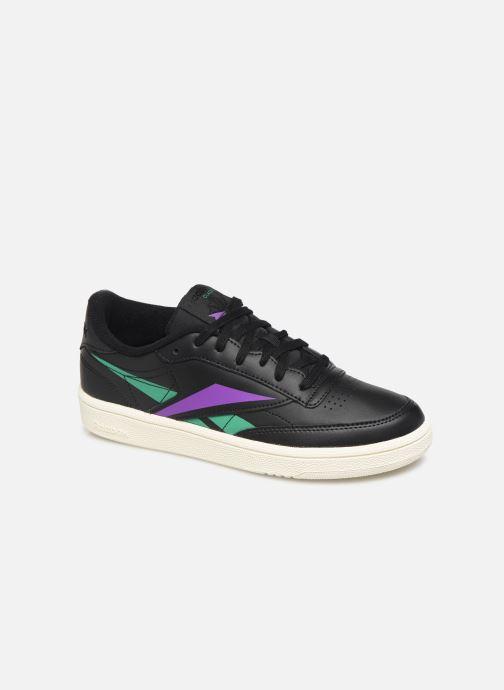Sneakers Reebok Club C 85 W Zwart detail