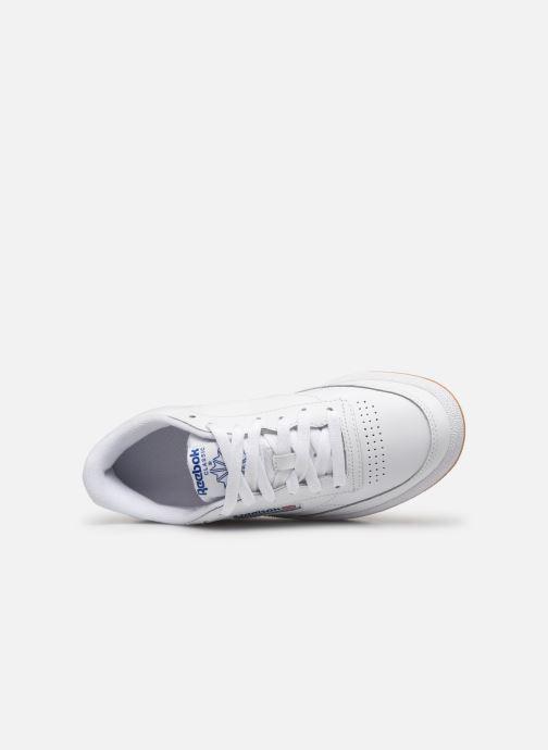 Sneaker Reebok Club C 85 W weiß ansicht von links