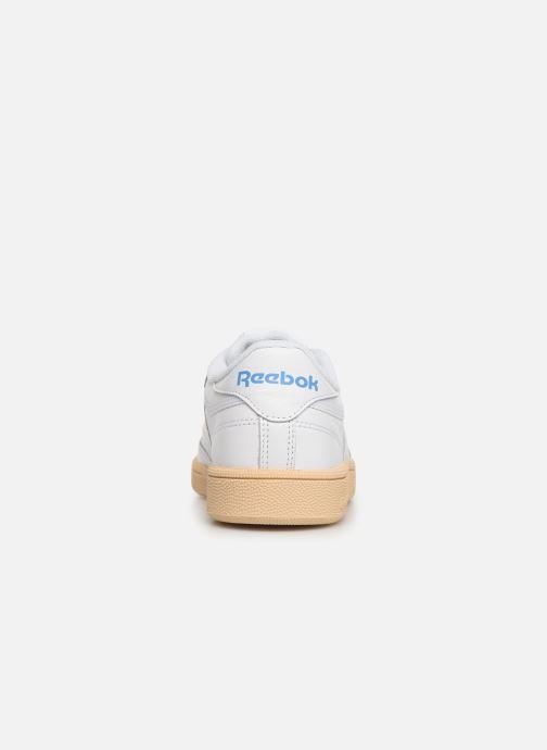 Sneakers Reebok Club C 85 W Wit rechts