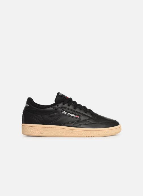 Sneaker Reebok Club C 85 W schwarz ansicht von hinten