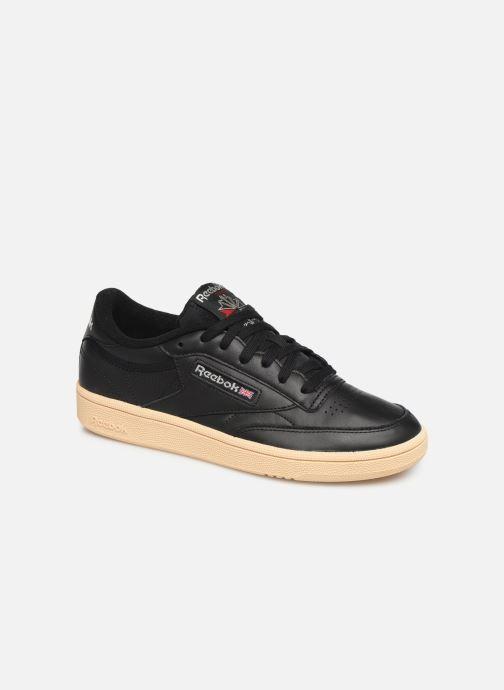 Sneaker Reebok Club C 85 W schwarz detaillierte ansicht/modell
