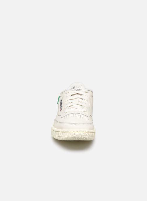 Sneakers Reebok Club C 85 W Bianco modello indossato