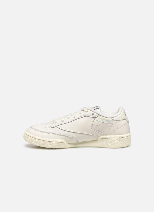 Sneakers Reebok Club C 85 W Bianco immagine frontale