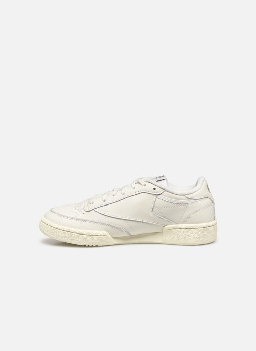 Baskets Reebok Club C 85 W Blanc vue face