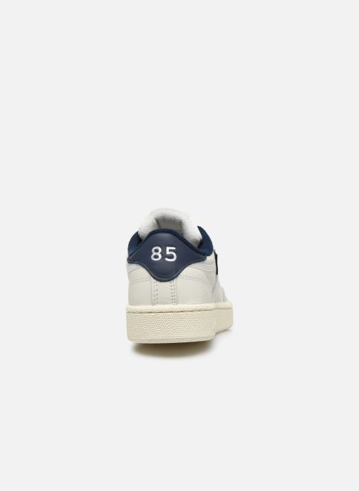 Baskets Reebok Club C 85 W Blanc vue droite