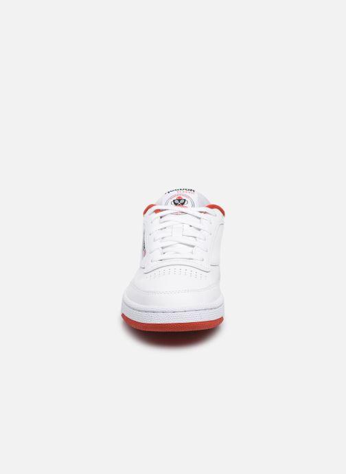 Baskets Reebok Club C 85 W Blanc vue portées chaussures