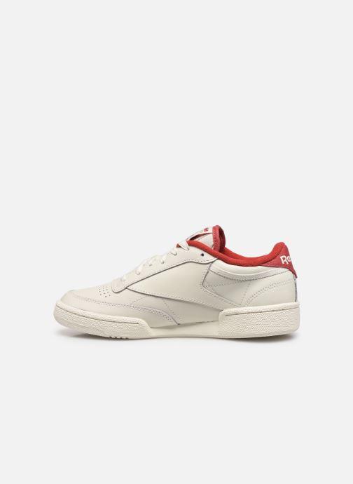 Baskets Reebok Club C 85 W Blanc vue face