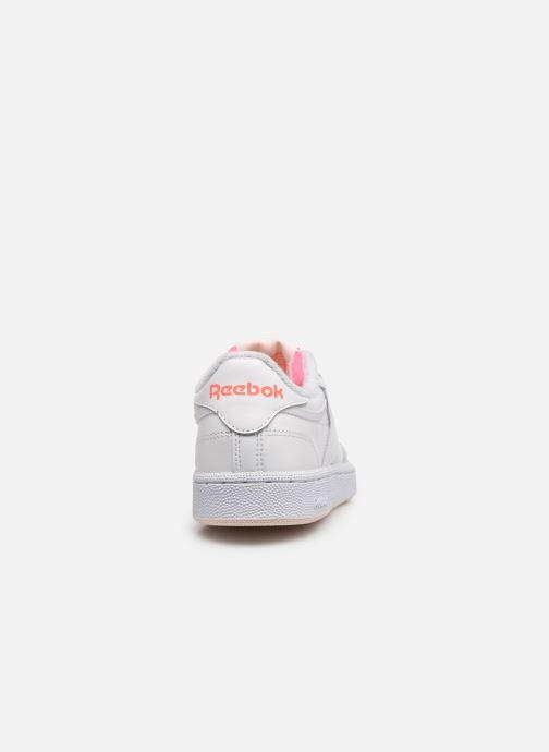 Sneaker Reebok Club C 85 W weiß ansicht von rechts