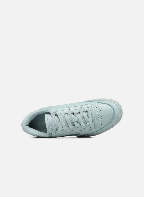 Sneakers Reebok Club C 85 Elm Blauw links