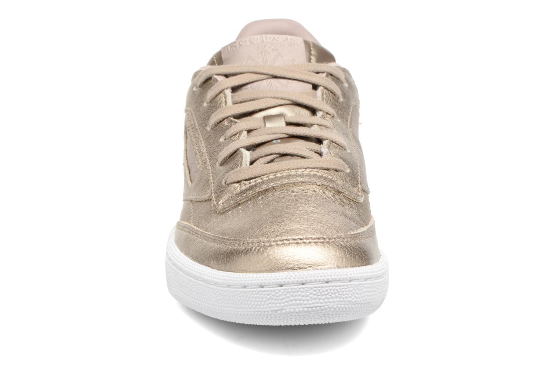 Baskets Reebok Club C 85 Melted Me Or et bronze vue portées chaussures