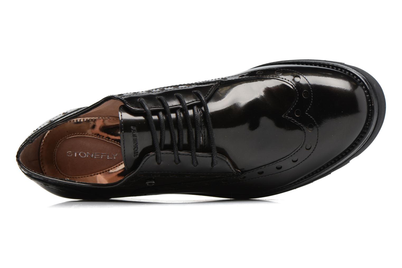 Chaussures à lacets Stonefly Perry 2 Noir vue gauche