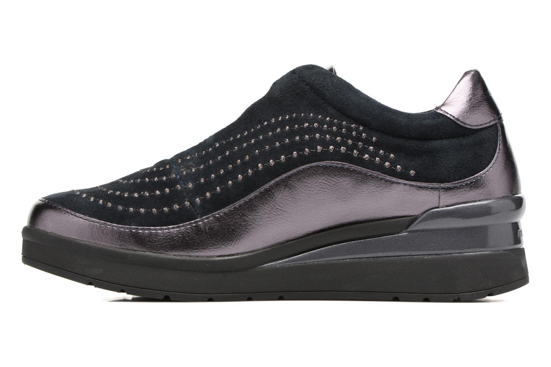 Zapatos con cordones Stonefly Cream 2 Azul vista de frente