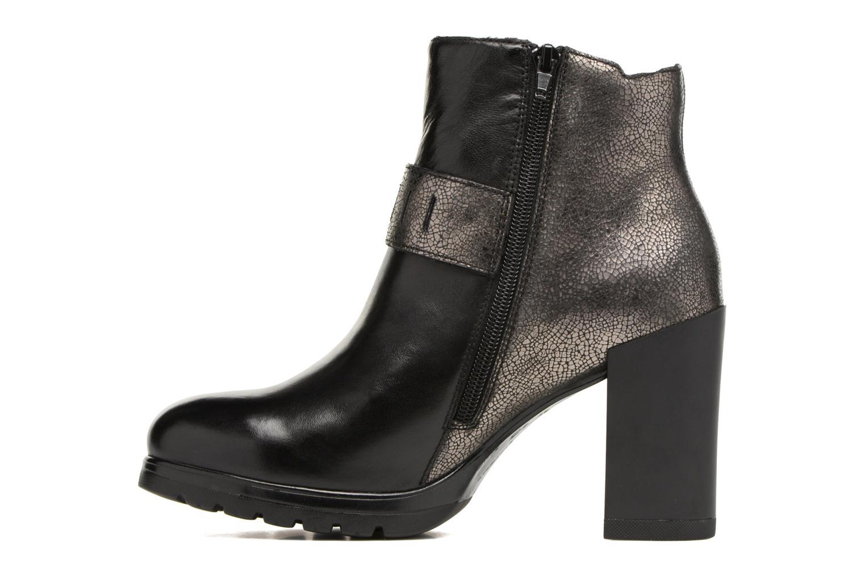 Bottines et boots Stonefly Over 10 Noir vue face
