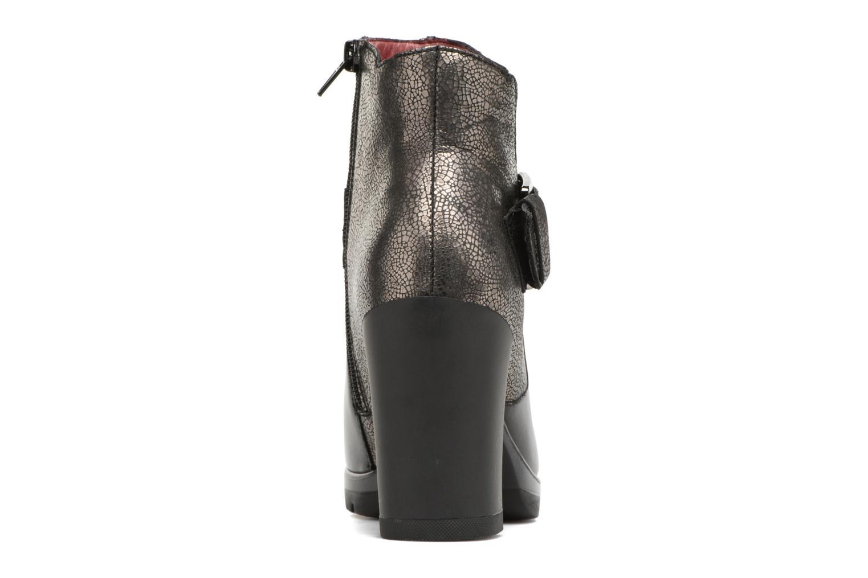 Bottines et boots Stonefly Over 10 Noir vue droite