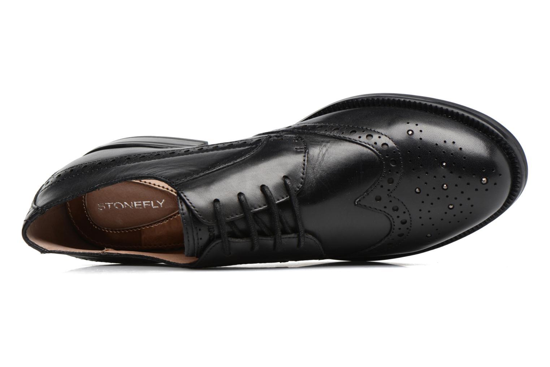 Chaussures à lacets Stonefly Clyde 21 Noir vue gauche