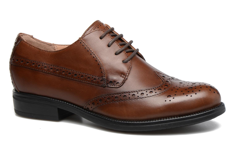 Zapatos con cordones Stonefly Clyde 21 Marrón vista de detalle / par