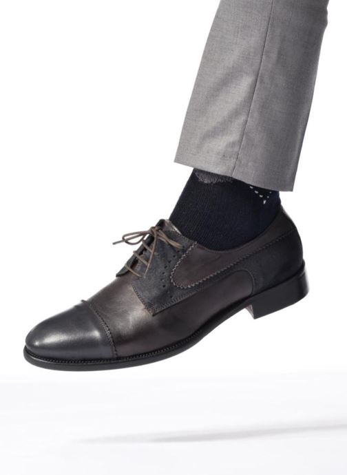 Lace-up shoes Marvin&co Daverton Brown view from underneath / model view