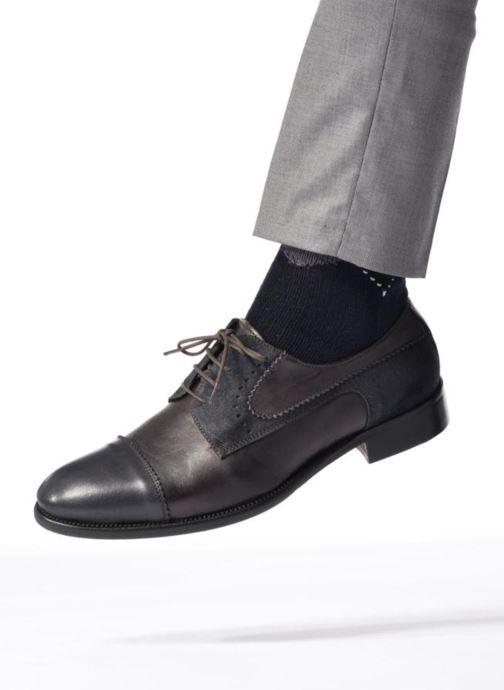 Zapatos con cordones Marvin&Co Daverton Marrón vista de abajo
