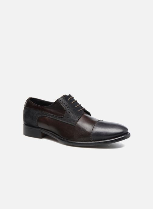 Lace-up shoes Marvin&co Daverton Brown detailed view/ Pair view