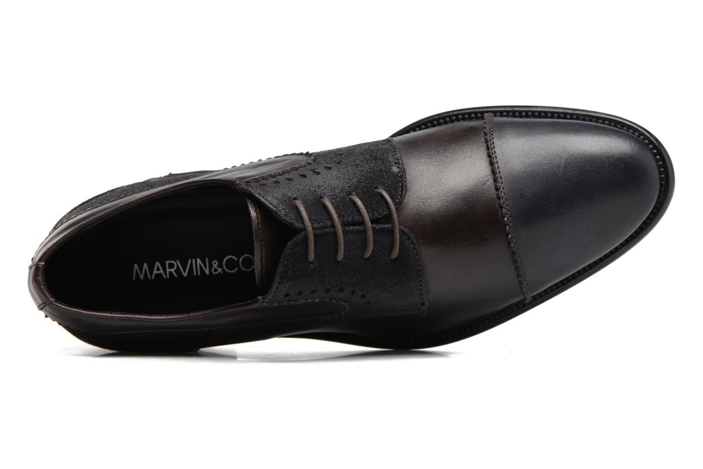 Scarpe con lacci Marvin&Co Daverton Marrone immagine sinistra