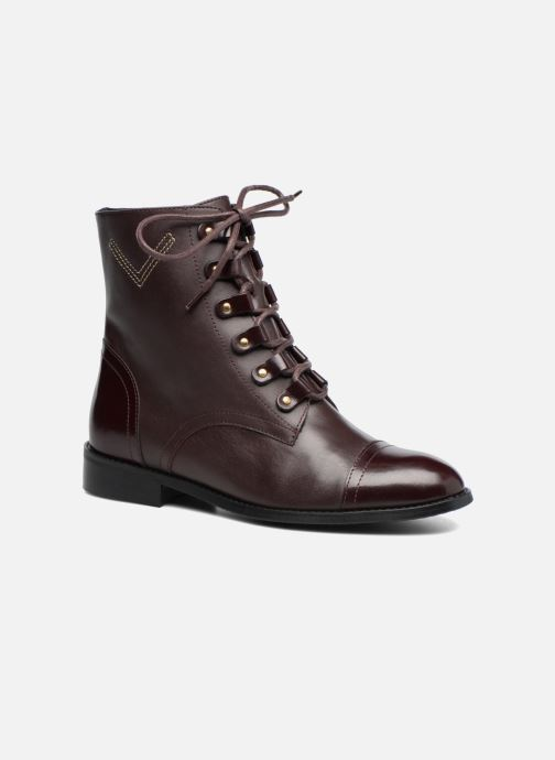 Made By Lisse Camp17 Boots Bordeaux Sarenza Cuir roCdBWQxe