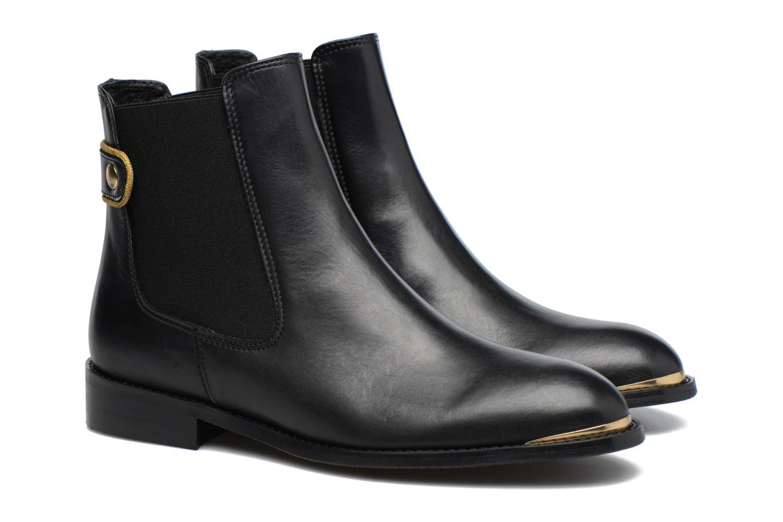 Bottines et boots Made by SARENZA Carioca Crew Boots #3 Noir vue derrière