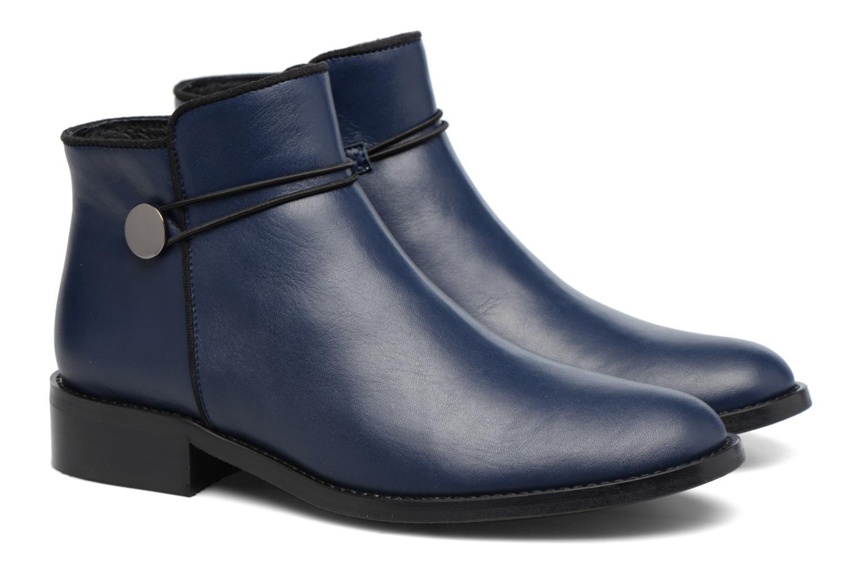 Bottines et boots Made by SARENZA Boots Camp #20 Bleu vue derrière