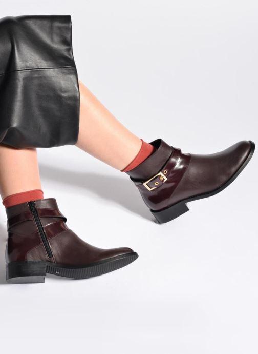 Stiefeletten & Boots Made by SARENZA Boots Camp #23 schwarz ansicht von unten / tasche getragen